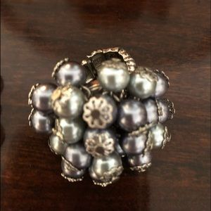 Jewelry - Pearl ring and bracelet